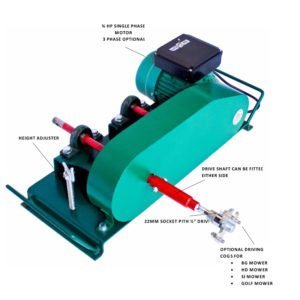 Backlapper Electric