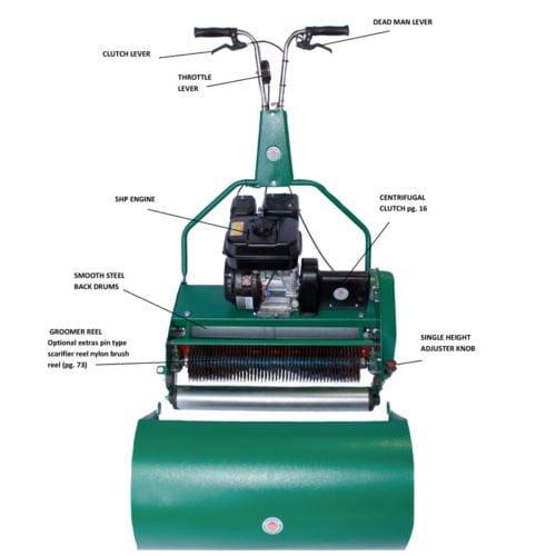 SI 510 (20) & 630 (25) Greens Mower And Dethatching European Version (Petrol)